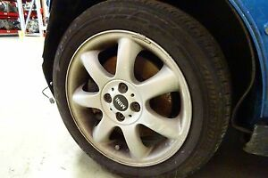 Used 16x6 1 2 Aluminum Wheel 2004 2009 Mini Cooper Tire Not Included