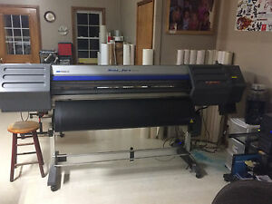 Roland Sc 545 ex Printer Plotter Wide Format 54