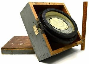 Vintage Us Navy Mark Ii 6 3 4 Card Compass By Lionel Corp Nautical Wwii C 1942