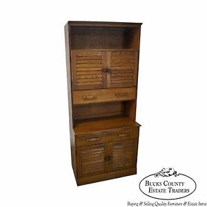Brandt Ranch Oak 2 Piece Cabinet