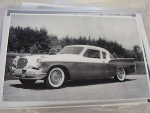 1957 Studebaker Golden Hawk 11 X 17 Photo Picture