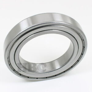 Radial Ball Bearing 6017 zz With 2 Metal Shields 85x130x22mm