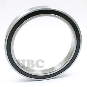 Radial Ball Bearing 6814 2rs With 2 Rubber Seals 70x90x10mm
