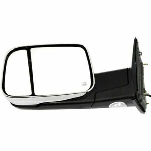 New Driver left Side Power Heated Towing Mirror For Dodge Ram Truck 2009 2012