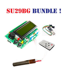 Geiger Counter Dosimeter Kit Assembled Arduino Ide Compatible w Tube And Usb
