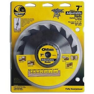 Porter cable 7005012 Oldham 7 in Adjustable Dado Blade