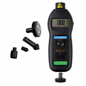 2 In 1 Smart Type Lcd Non contact Laser Rpm Rotation Photo Tach Tachometer