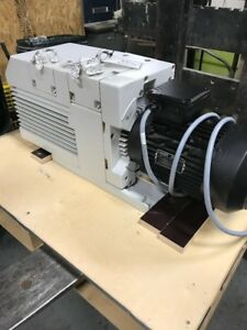 Trivac Oerlikon Leybold Vacuum Pump D65b Low Hours It Was Used With Air Filter