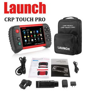 Launch Crp Touch Pro 229 Diagnostic Scan Tool Epb Sas Dpf Free Mbz Bmw Adapters