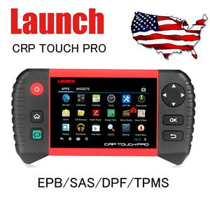 Launch Crp Touch Pro 229 Diagnostic Scan Tool Epb Sas Dpf Wifi Android System Us