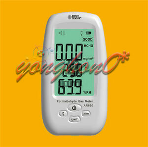 Ar820 Indoor Lcd Digital Formaldehyde Meter Detector Air Quality Monitor