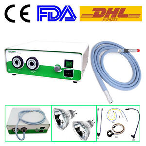 Endoscope Xd 301 2 250w Double Halogen Cold Light Source Fiber Cable4x1800mm Ce