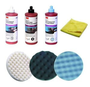 3m Perfect it Compound Polish Buffing Kit 05723 05725 05751 39060 39061 39062