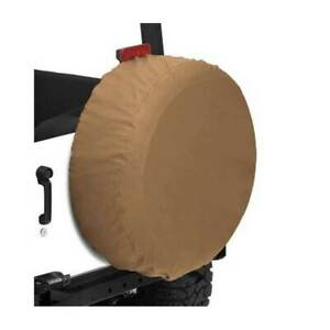 Bestop 29 X 9 Custom Fit Spare Tire Cover Tan