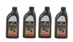 4 Quart Atf T iv Automatic Transmission Fluid Oil Genuine For Toyota Lexus