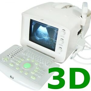 3d Color Doppler Portable Digital Ultrasound Machine Scanner 3 5mh Convex Probe