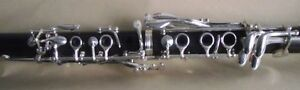 Excellent Bb soprano clarinet ebony wood body Good sound and material