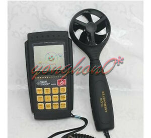 Smart Sensor Ar856 Air Flow Anemometer Infrared Temperature Usb Software
