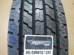 4 New Lt 225 75r16 Ironman All Country Cht Tires 225 75 16 2257516 75r 10 Ply