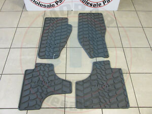 Jeep Liberty All Weather Style Set Of Slush Floor Mats New Oem Mopar