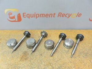 Wilson Tool Amada Rad Punch Press Dies Die Turret Lot Of 4 Sets