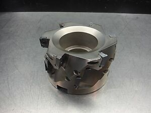 Iscar 4 Indexable Milling Cutter 1 5 Arbor Sm D400 150 150 M loc2694a