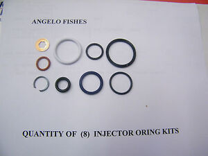 6 0 6 0l Ford Powerstroke Diesel Injector O ring Kit includes Hp Oil Rail Seal