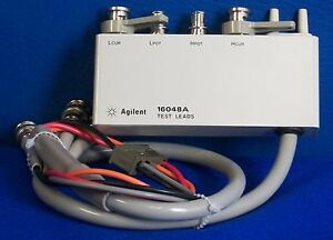 Agilent Hp Kt 16048a Test Lead Bnc Connector bnc Connector Board Not Included