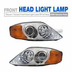 Oem Parts Front Head Light Lamp Rh Lh Assy For Hyundai 2002 04 Tiburon Tuscani