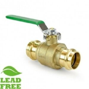 2 Matco Norca Propress Ball Valve Cxc lead Free Brass Full Port