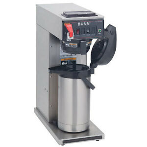 Bunn 23001 0008 Airpot Coffee Maker Automatic With Faucet