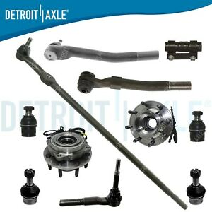 New 11p Complete Front Suspension Kit For Ford F 250 F 350 Super Duty 4wd 4x4