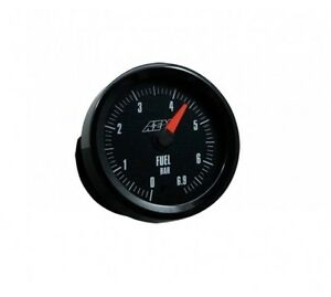 Aem Oil fuel air Pressure Gauge Analogue Face 0 6 9bar 30 5133m