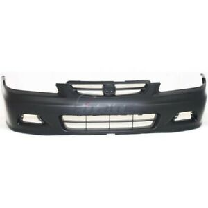 New Front Bumper Cover For 2001 2002 Honda Accord Coupe Ho1000195