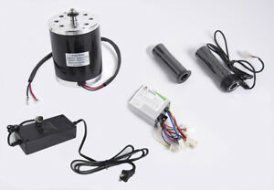 500 Watt 24 V Electric Motor Kit W Speed Control Throttle Charger F Scooter