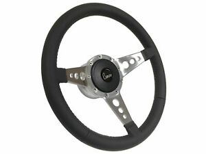 1969 1989 Chevy Camaro S9 Leather Steering Wheel Kit 3 Spoke holes