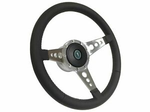 1969 1989 Pontiac Lemans Gto S9 Leather Steering Wheel Kit 3 Spoke holes
