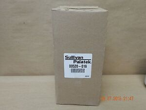 New Oem Sullivan Palatek Helical Screw Air Compressor Oil Filter Part 00520 016