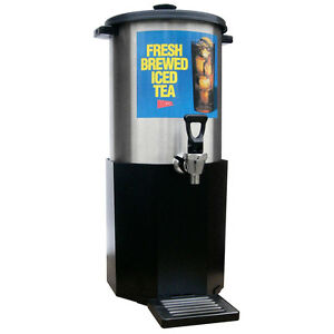 Gmcw B1 3 3 Gallon Iced Tea Dispenser W Plastic Base