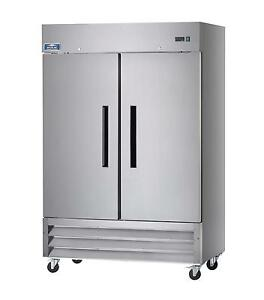 Arctic Air Af49 49 Cu ft Reach in Freezer 2 Solid Doors Stainless Exterior