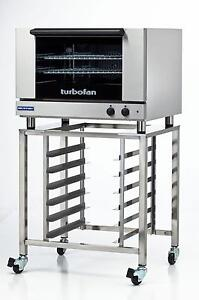 Moffat E27m2 sk2731u Electric Convection Oven Full Size 2 Pan W Mobile Stand