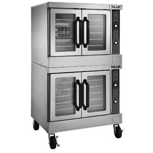 Vulcan Vc44ed 480 Vc series Double Stack Electric Convection Oven 480v