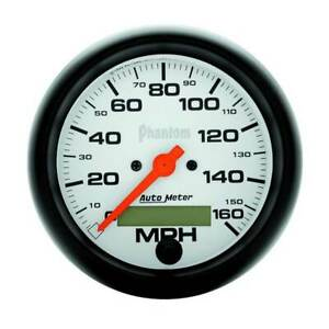 Autometer Phantom 3 3 8 Electric Speedometer 0 160 Mph Gauge