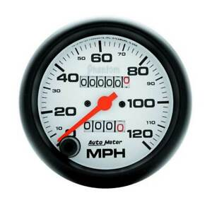 Autometer Phantom 3 3 8 Mechanical Speedometer 0 120 Mph Gauge