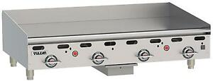 Vulcan Msa48 Msa series 48 Snap Action Thermostatic Gas Griddle