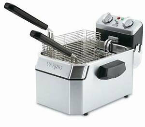 Waring Wdf1500b 15lb Counter Top Deep Fryer Electric 208v