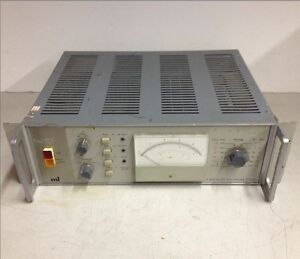 Marconi Instrument Ltd S 3a Programmable Rms Ac dc Voltmeter Tf 2607 For Parts