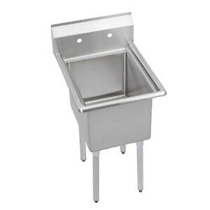 Elkay Foodservice 1 Compartment Sink 18 300 Stainless 18 X 18 X 12 Bowl