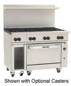 Vulcan 48c 8b Endurance 48 Range With 8 Burnersand One Convection Oven