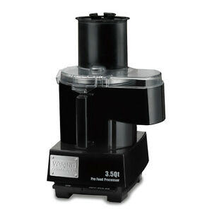 Waring Wfp14sc 3 5 Quart Food Processor Continuous Feed With Batch Bowl